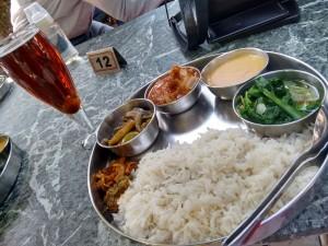 The special Nagaland thai (pork).