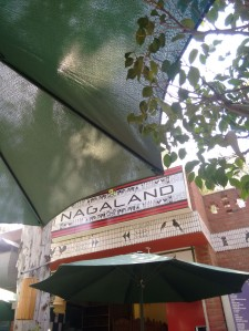 The Nagaland stall at Dilli Haat.