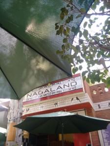 The Nagaland stall at Dilli Haat.