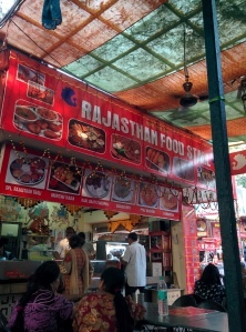 The Rajasthan Stall at Dilli Haat.