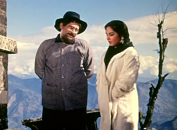 Kalpana and Shammi Kapoor in Professor