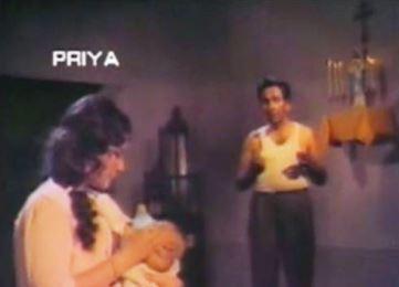 Meena calms D'Souza's baby