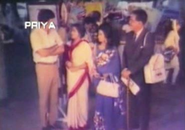 Ritu arrives with her parents...