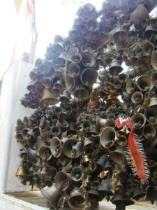 Bells at the Jhoola Devi Tenple.