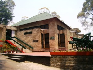 The Kumaon and Naga Regiments' Museum.