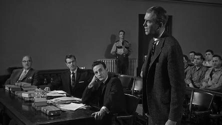 A scene in court