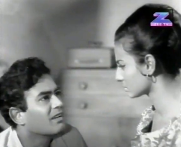 Sanjeev Kumar and Tanuja in Priya