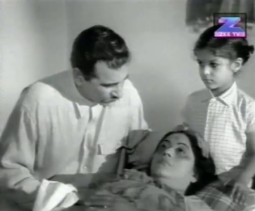 The death of Chandan's mother, with her daughter's name on her lips.
