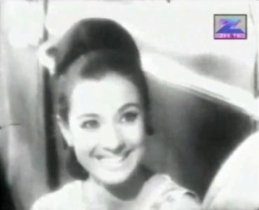 Tanuja in Priya, 1970.