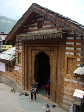 The gateway to the Vashisht Temple.