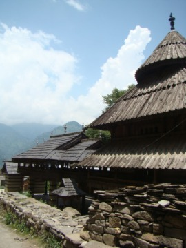 The Tripura Sundari Temple in Naggar.