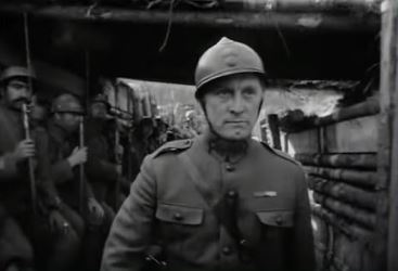 Kirk Douglas in Paths of Glory