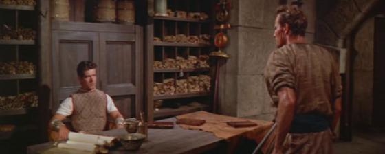 Messala flatly refuses to help Ben-Hur