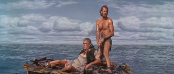 Ben-Hur rescues Arrius, even from himself