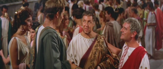 Pontius Pilate announces his imminent departure for Judea