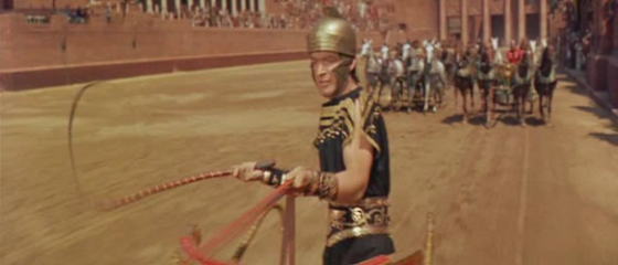 Stephen Boyd as Messala in Ben-Hur