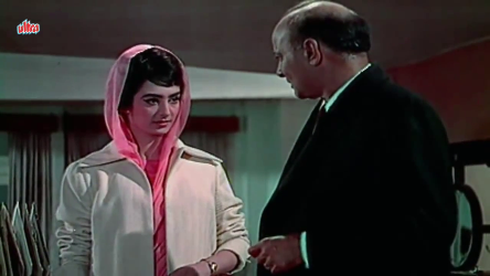 Saira Banu and Motilal in a scene from the film