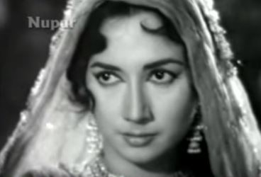 Beautiful eyes - Shakila in 'Mast aankhen hain ke paimaane do' from Nakli Nawab