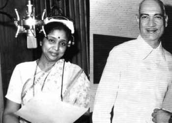 Asha Bhosle with OP Nayyar
