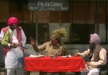 The inspector scolds Sukha