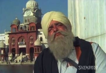 Prithivraj Kapoor as Gurmukh Singh in Nanak Naam Jahaaz Hai