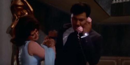 Prem grabs Priya and phones the cops