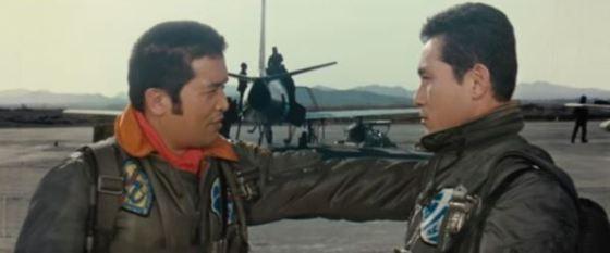 Lt Bae, with Major Na