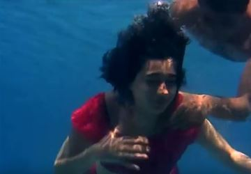 An underwater sequence from Kab?Kyon? Aur Kahaan?