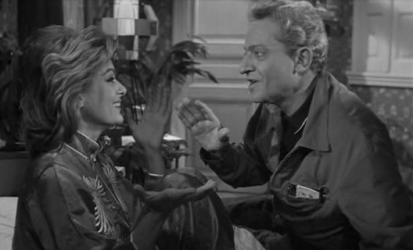 Jules Dassin with Melina Mercouri in Pote tin Kyriaki