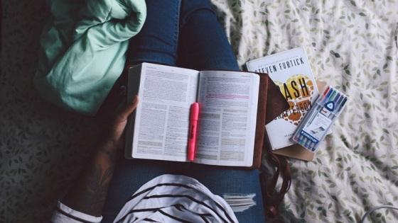 Breaks in books