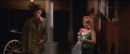 Johnny comes, bringing Molly's belongings