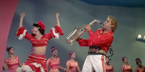 Biswajeet with Helen in Kahin Din Kahin Raat