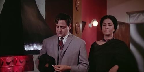 Pran and the scientist - and a poisoned fingernail