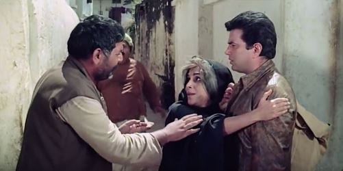 Mausi comes, claiming Ajit as her son
