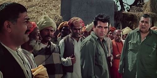 Ajit and Jaswant Singh, and the scared villagers