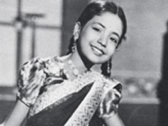 Baby Meena, age eight